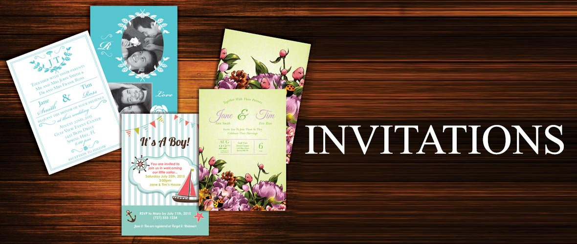 Echo Blueprint invitations